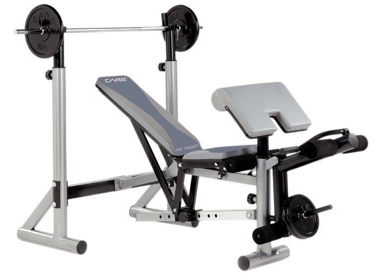 Banc de musculation care pro trainer 2 ref 50340 2 rando fitn - Banc musculation fitness ...