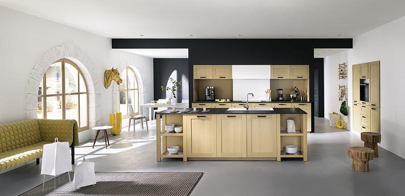 Cuisine pavola chene blanchi cuisines meubles bernardo - Cuisine ixina avis consommateur ...