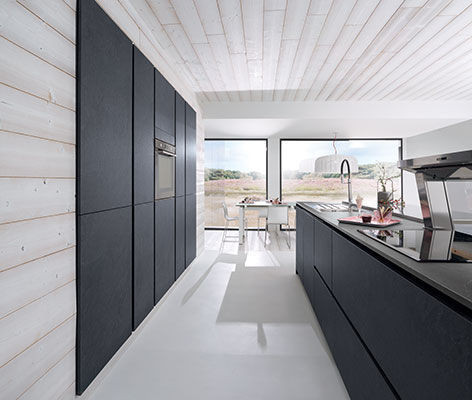 cuisine niobe cerame ardoise cuisines meubles bernardo. Black Bedroom Furniture Sets. Home Design Ideas