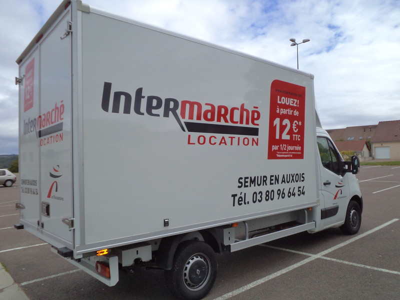 location de vehicules utilitaires 20m intermarche semur en auxois. Black Bedroom Furniture Sets. Home Design Ideas